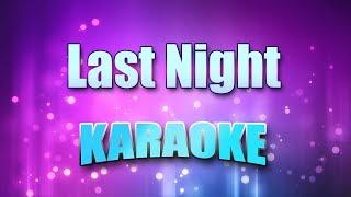 Az Yet & Peter Cetera - Last Night (Karaoke & Lyrics)
