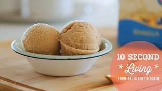 How To Make Vegan Ice Cream // 10 Second Living With Almond Breeze