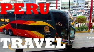 How is Bus Travel in PERU? A Journey to the Andes Mountains