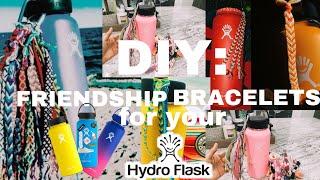 DIY: VSCO Mädchen Freundschaft Armbänder für Ihre HYDROFLASK *ästhetische af*