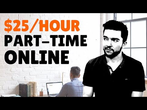 Part-Time Work-From-Home Jobs $25/Hour At 3 Websites 2020