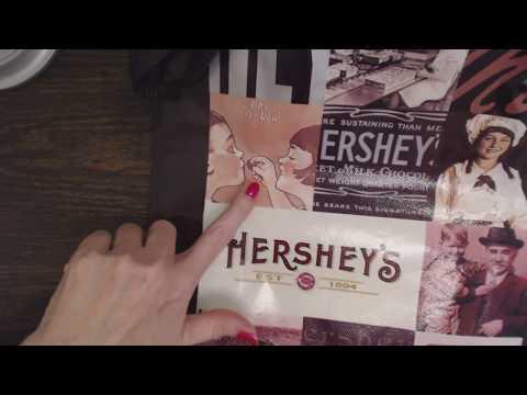 ASMR Whisper ~ Hershey Chocolate World Gift Shopping Haul Show & Tell