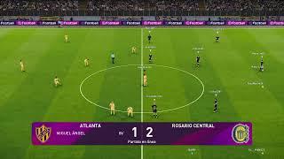 Fecha 4 AFA | Atlanta vs Rosario Central | 11vs11 |