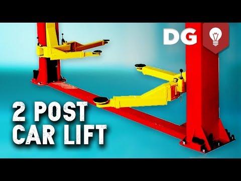 How To Install A 7000 Lb 2 Post Car Lift