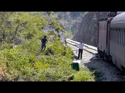 MONTENEGRO EXPRESS: Bar to Belgrade by train...