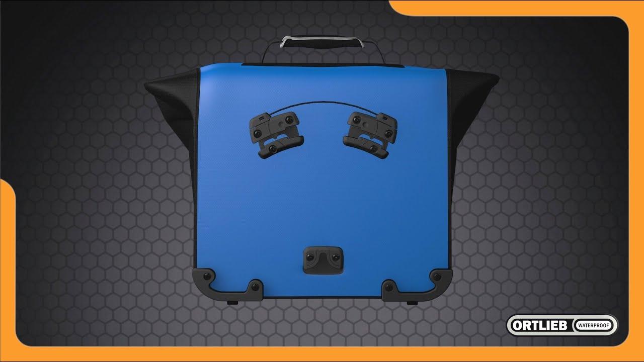 Ortlieb ql2.1 Tailles Diff Crochet avec Poignée Réglable Pour Ortlieb-poches