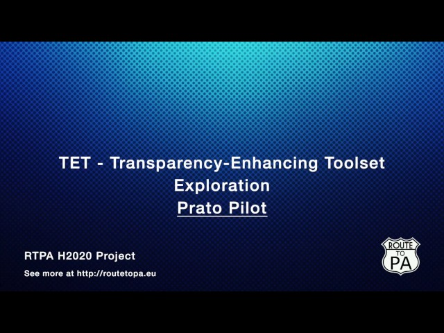TET Features - Exploration - Prato