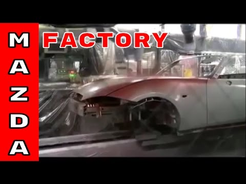 Mazda Factory Assembly Plant For MX 5, CX 5, and CX 9