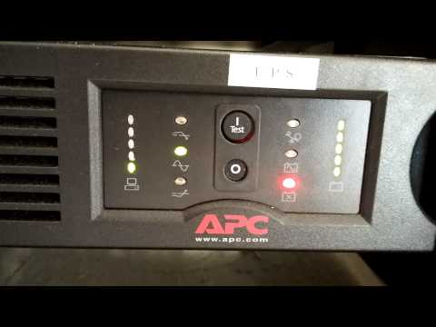 Apc Ups Error Code