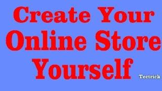 Erstellen Sie Ihren E-commerce-Website ( Online-Shop )Selbst Ohne Web-Design-Kenntnisse