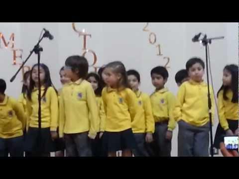 Primero A  Windsor School 2012, UN MILLON DE AMIGOS