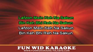 Lafzon Mein Keh Na Sakun Karaoke | Abhijeet Sawant | Sony Music