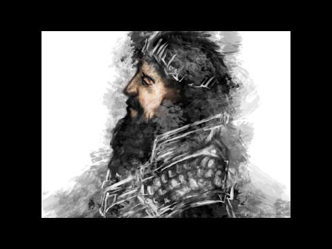 Ulmo (The Silmarillion): Illustration Process • By Berber Mijangos