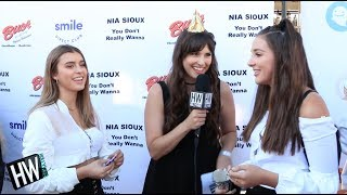 'Dance Moms' Kendall Vertes & Kalani Hilliker Gush Over Nia Sioux!