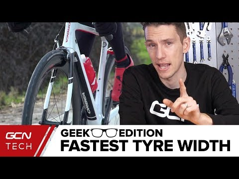 Cycling Tyre Width Test On Cobbles | The Geek Edition