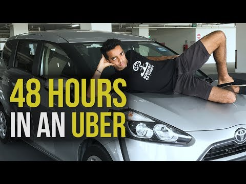 I lived in an UBER for 48 HOURS!!!