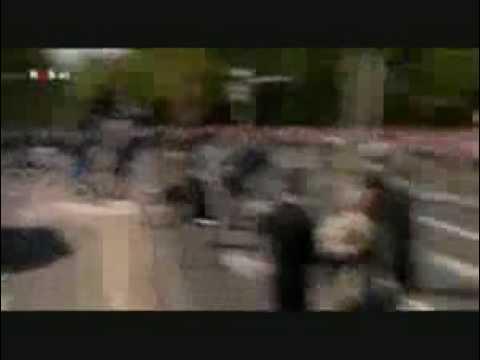 FULL LENGTH Car Accident Dutch Netherland Queen BEATRIX Parade attack