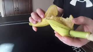 Can You Cut A Bannana in half With Ping Pong Ball