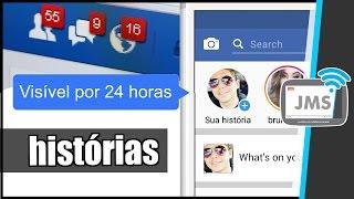 Já é possível testar o Facebook Stories