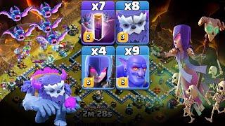 Yeti + Witch + Bowler + Bat Sp…