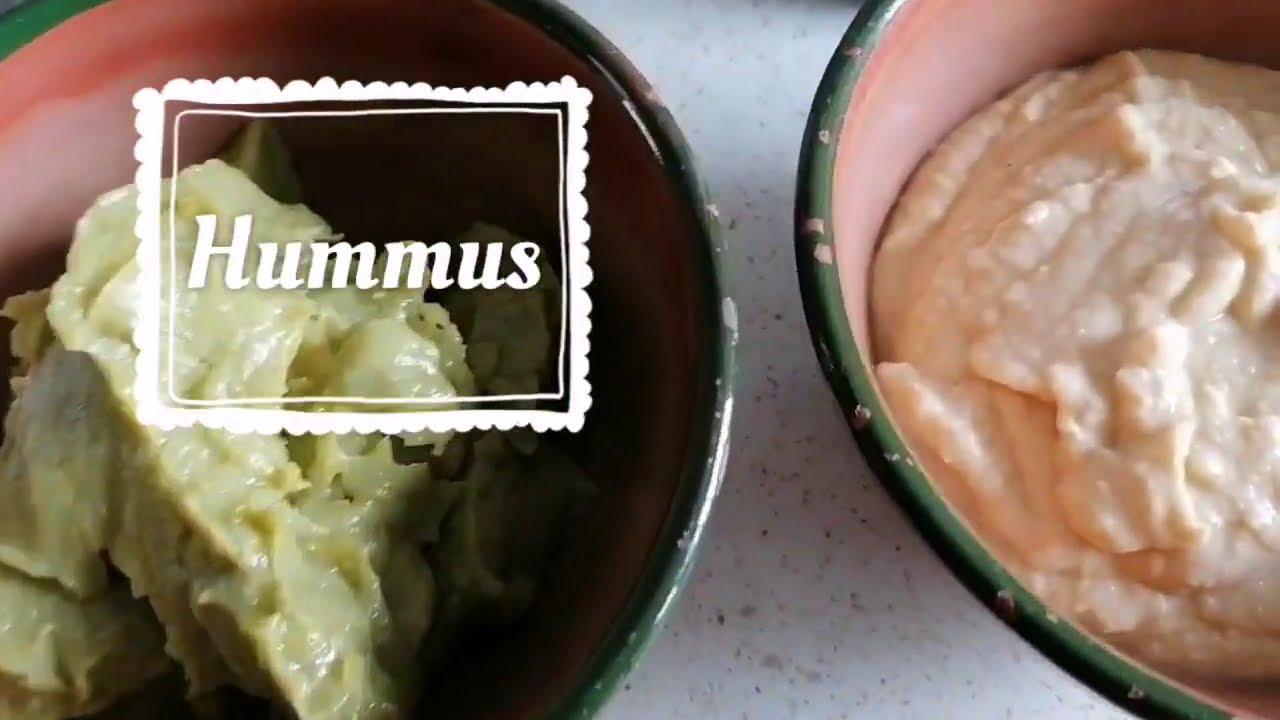 Hummus de garbanzos, cremoso y suave, con Magic bullet, Cintika💛