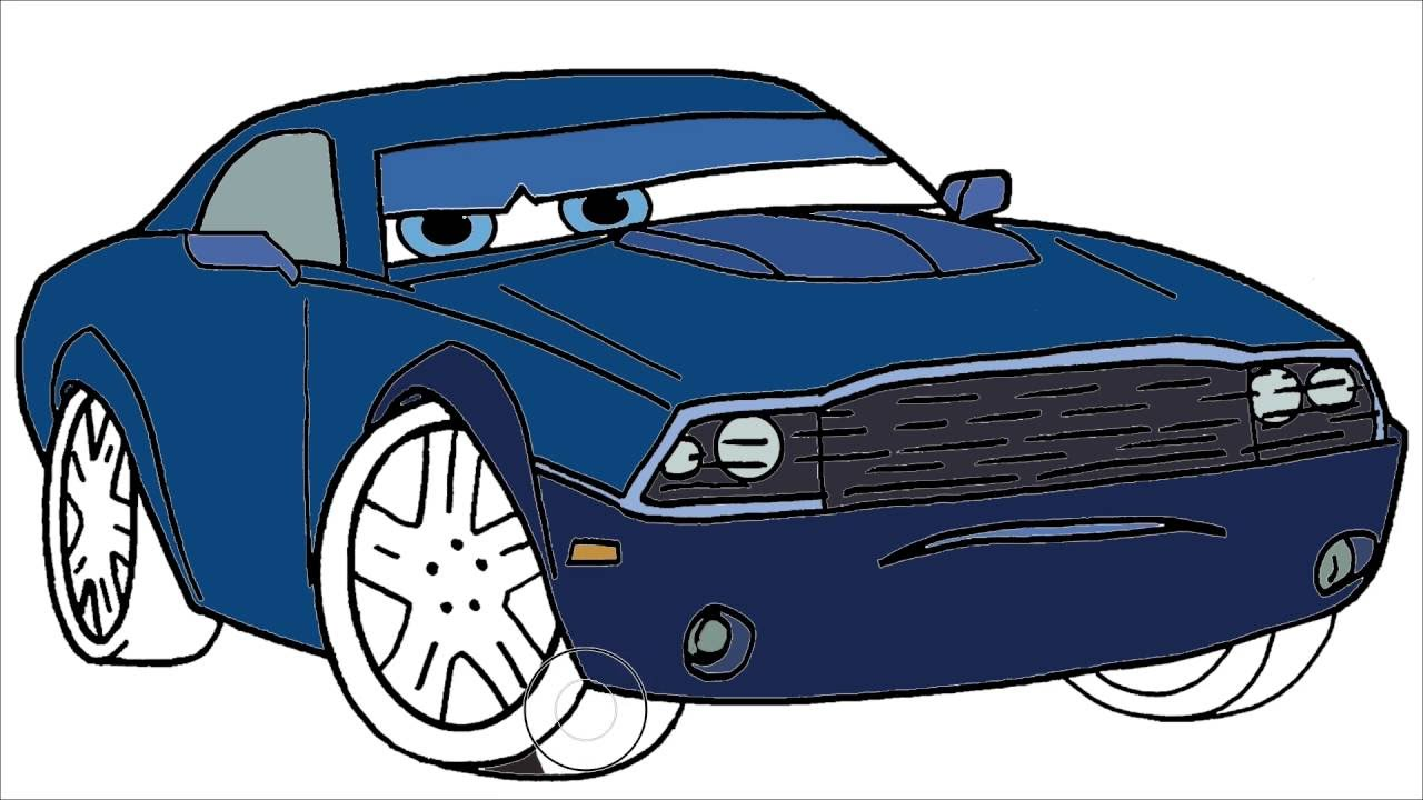 disney cars coloring page 5 rod redline little hands coloring