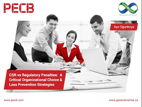 CSR vs Regulatory Penalties: A Critical Organizational Choice & Loss Prevention Strategies