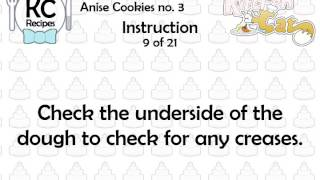 Anise Cookies No. 3 - Kitchen Cat