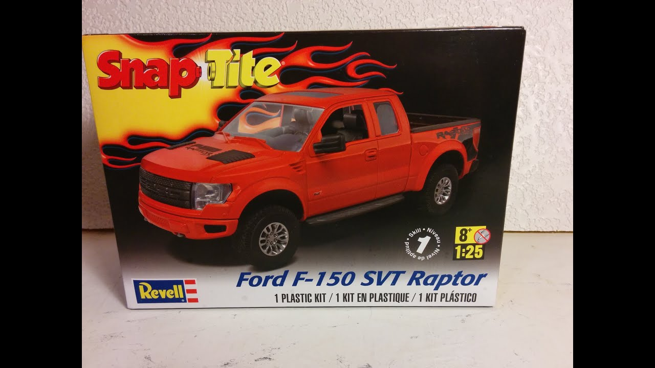 Review Of Ford F  Svt Raptor Model By Revell