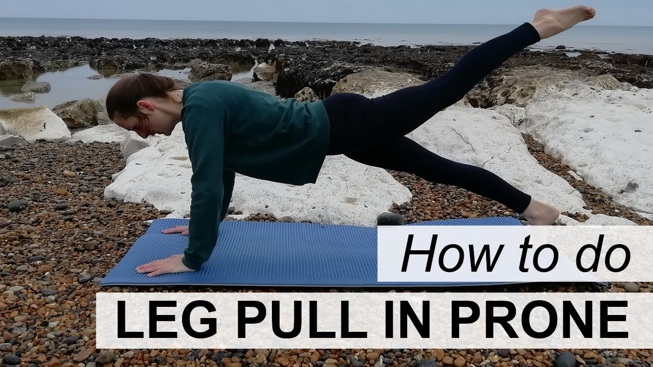 How to do Pilates Leg Pull in Prone Exercise | Pilates Live
