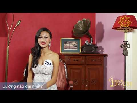 INTERVIEW | Hoàng Lan, SBD 104 | Top 45 Miss Universe Vietnam