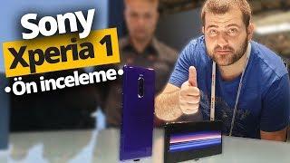 Sony Xperia 1 ön inceleme: Dünyanın ilk 4K HDR OLED ekranı