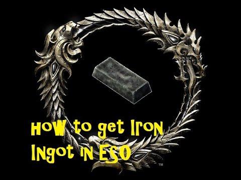 how to make iron ingot bdo