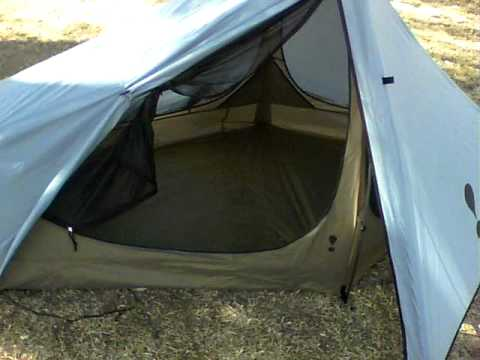 Eureka Spitfire 1 person tent! lightweight and cheap & Eureka Spitfire 1 person tent! lightweight and cheap - YouTube