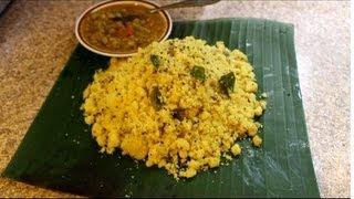 Upma Recipe: How to make Upma Recipe, South Indian Upma Recipe/EPISODE 68