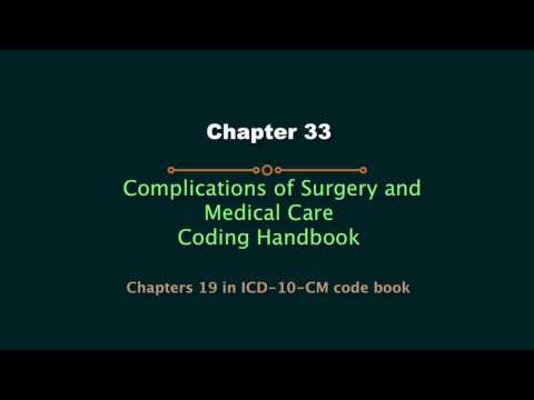 HIT220.221 Coding Handbook Chapter 33 - Complications of Surgery and Medical Care (Updated 2017)