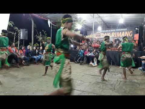 Jathilan Gagak Rimang Glagah , Babak Putro 2018 New