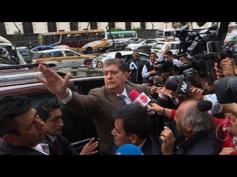 afpbr: Ex-presidente proibido de deixar Peru