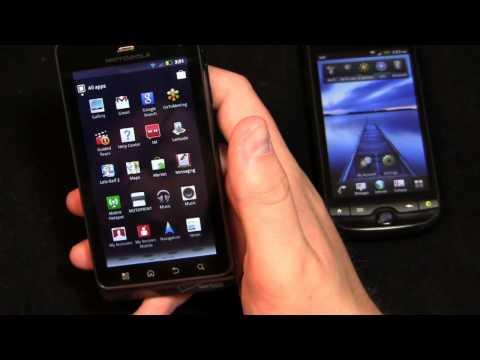 Motorola DROID 3 vs. T-Mobile myTouch 4G Slide Dogfight Part 1