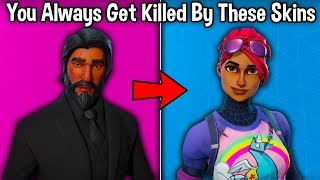 10 SKINS YOU ALWAYS DIE AGAINST in Fortnite! (tryhards skins)