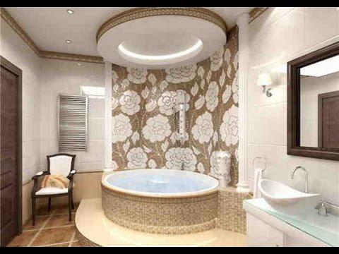 Какой сделать потолок в ванной комнате. Несколько идей