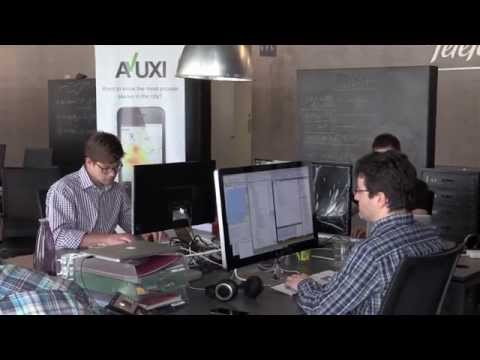 Work day at AVUXI's Barcelona office