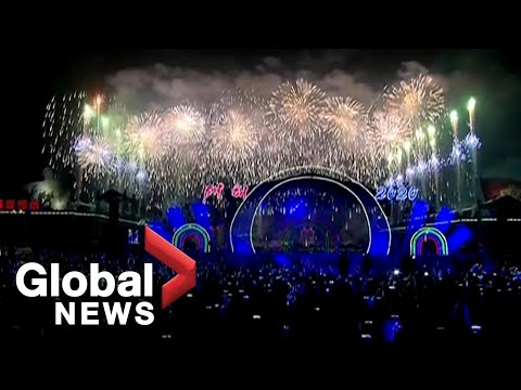New Year's 2020: North Korea puts on elaborate show in Pyongyang | FULL