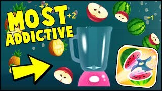 WILL IT BLEND? THE MOST ADDICTIVE GAME OF 2018 // FRUIT MASTER io Gameplay (NEW APP GAME)