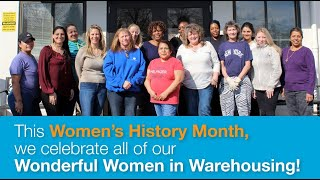 Wonderful Women in Warehousing