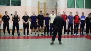 Видео-обзор  о  школе рукопашного боя