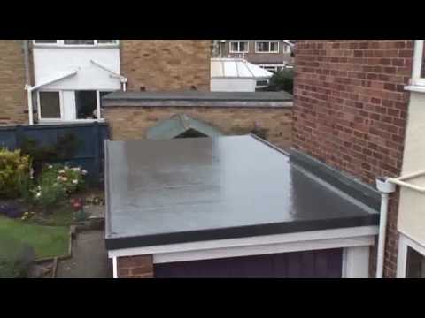 Flat Roofing Grp Roofing Youtube