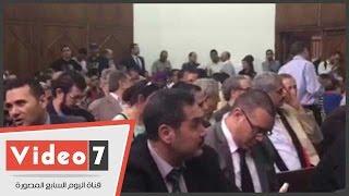 """جلسة طعن الحكومة على بطلان اتفاقية """"تيران وصنافير"""" كاملة العدد"""