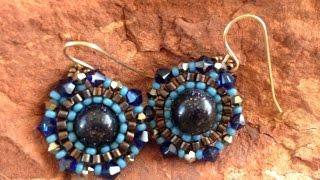 How To: Brick Stitch around a Round Bead