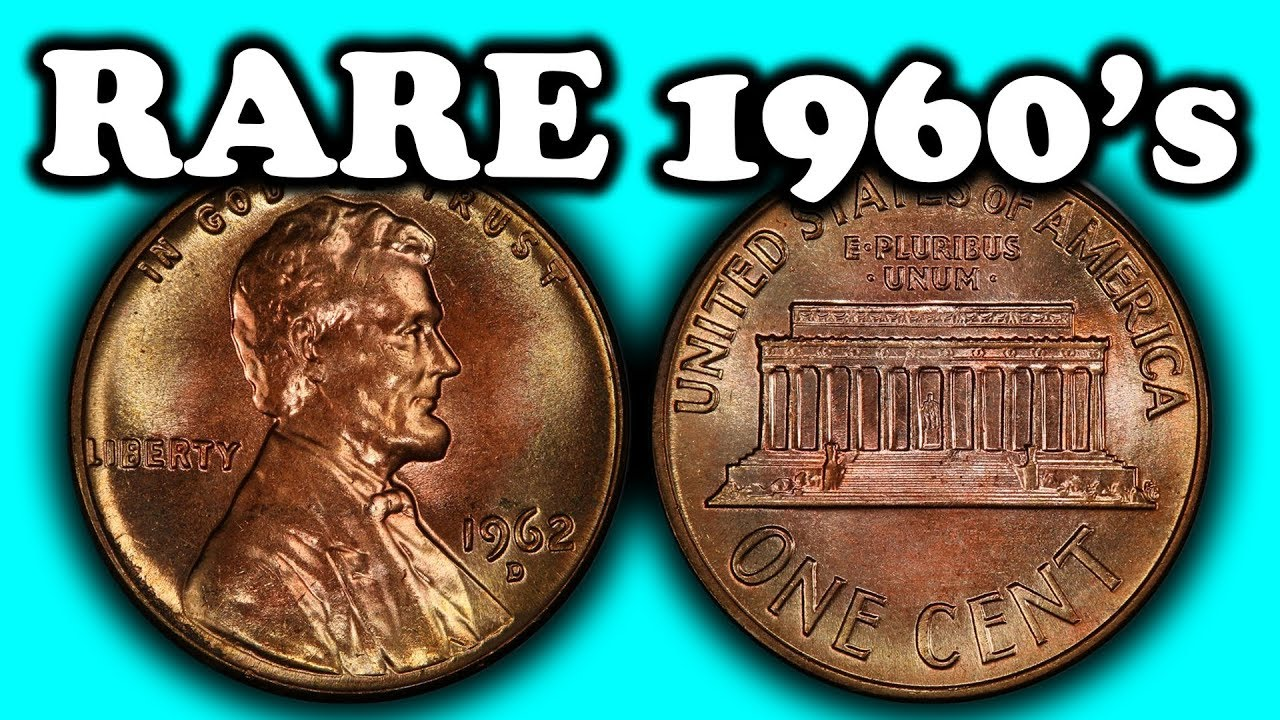 MOST VALUABLE PENNIES FROM THE 1960'S - SUPER RARE PENNIES WORTH MONEY!!
